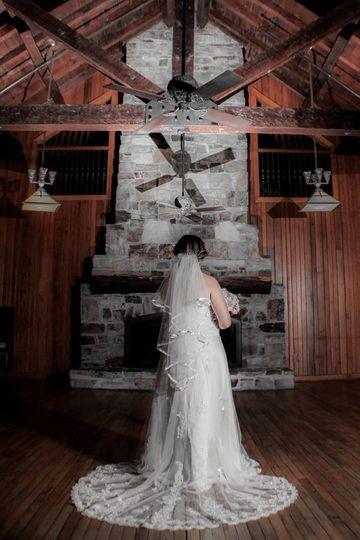 Bride Bald Rock Lodge