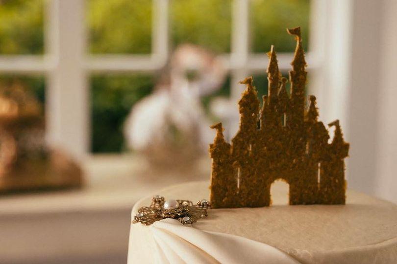 meriwether aldridge wedding cake disney castle fai