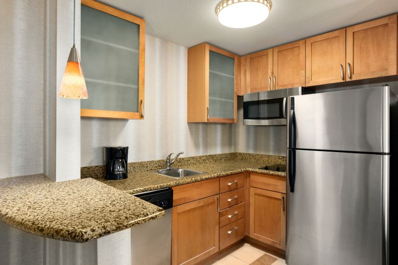 Full Kitchen in every suite