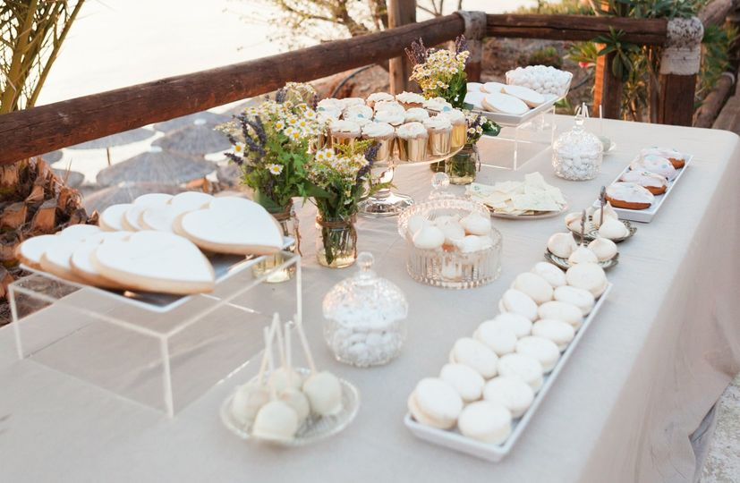 White, Mint and Gold Wedding by the sea!!!