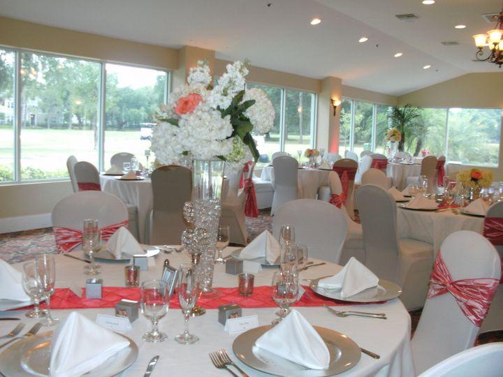 Tmx 1402685885637 Caressa Centerpiece Tampa, FL wedding venue