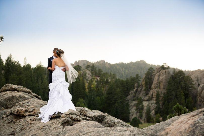 Sylvan Lake wedding