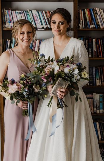 Matron of Honor and Bride