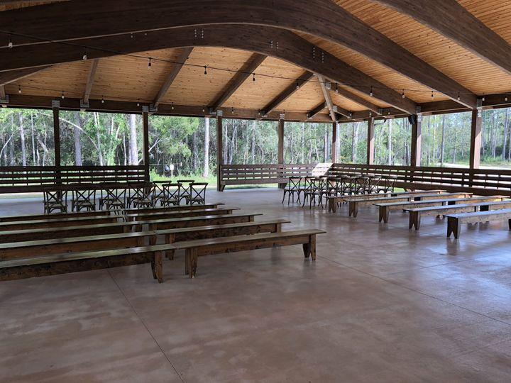 Pavilion Set for Ceremony