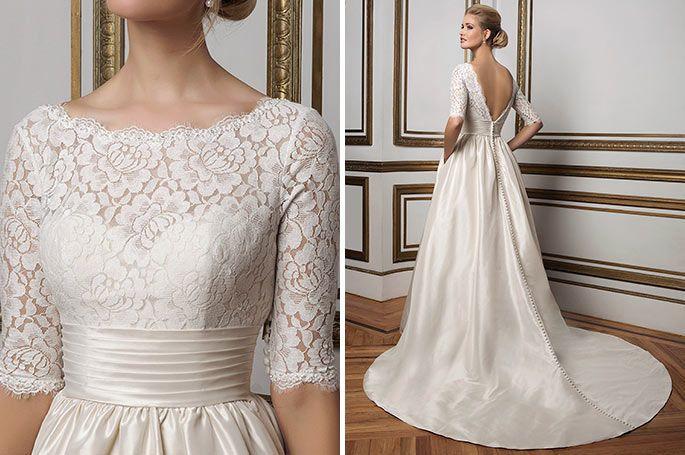 Long A-line backless dress