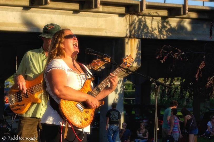 Joan Zen rocking the stage