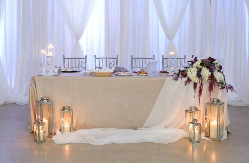 Head Table Corner Piece
