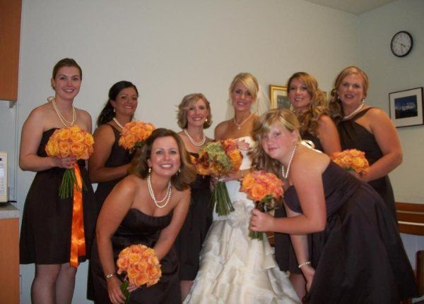 Bridal Party all done by Glam Squad