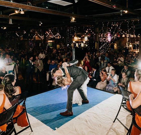 Boxing Ring First Dance