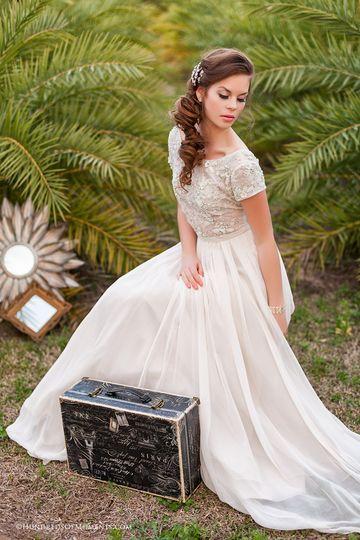 Wedding look idea