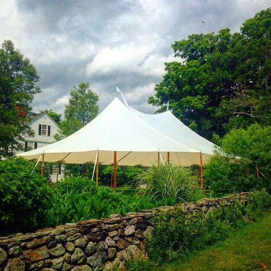 Sailcloth Ceremony Tent
