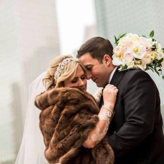 Downtown Winter Wedding