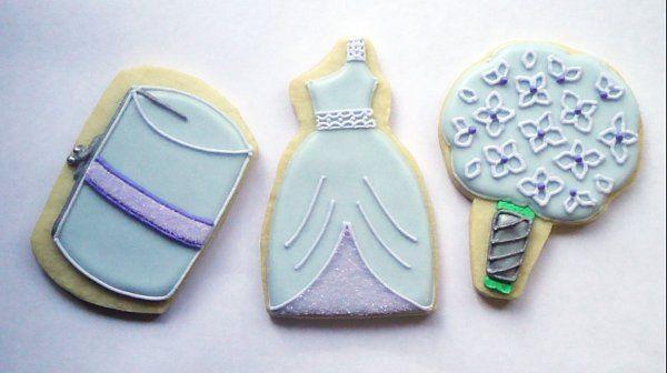 Bridesmaid Cookies - Lavender