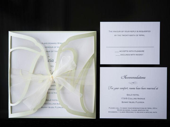 Tmx 52437388 001 008 Felicia Mitch Wedding 51 492133 157383128454022 Miami, FL wedding invitation