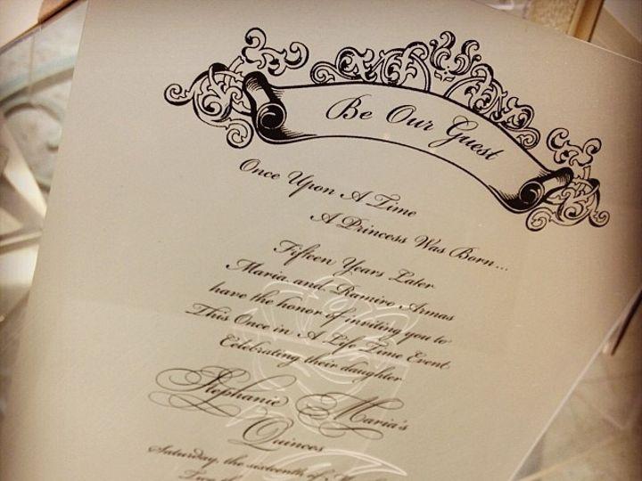Tmx Acrylic 51 492133 157383146763005 Miami, FL wedding invitation