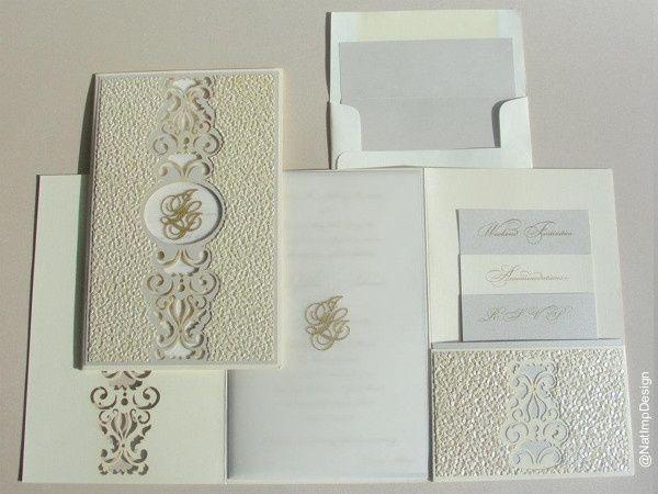 Tmx Lasercut Pebble Invitations Suite 2 51 492133 157383129472335 Miami, FL wedding invitation