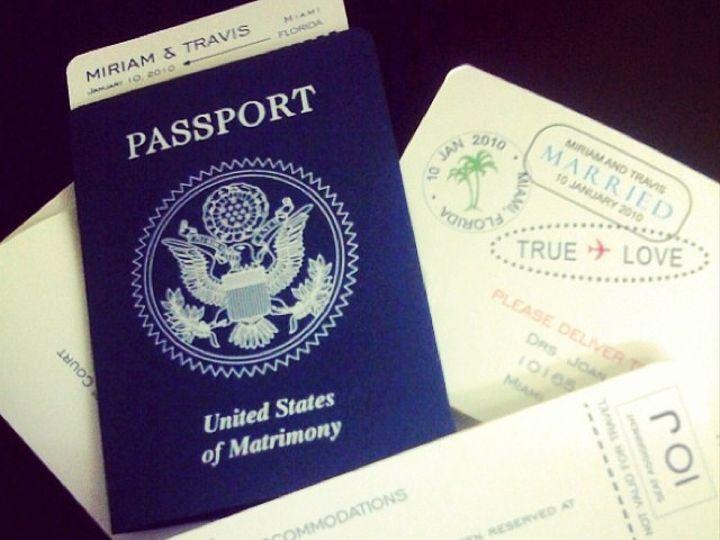 Tmx Passport 51 492133 157383147654681 Miami, FL wedding invitation