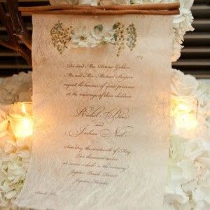 Tmx Pressed Flower Scroll Invitation 300x300 51 492133 157383132692362 Miami, FL wedding invitation
