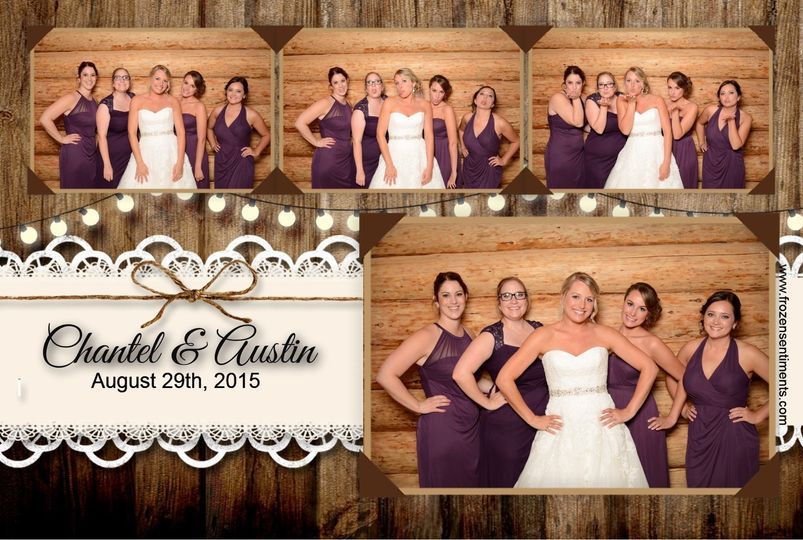 Wood Lace Wedding 4x6