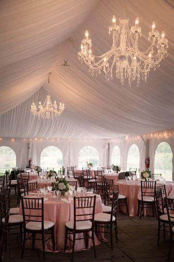 A romantic tent