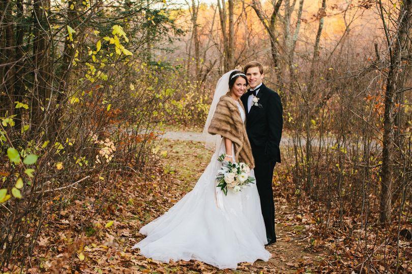 fall wedding fur outerwear
