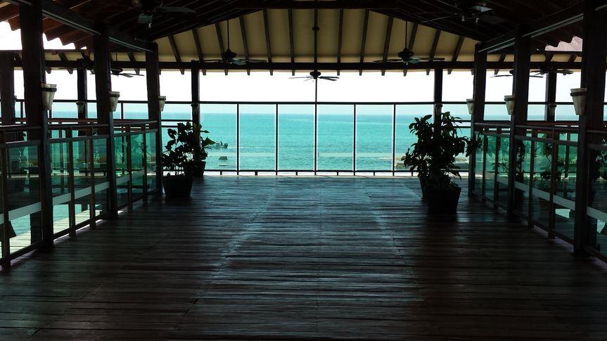 Great almost-overwater wedding venue Generations Riviera Maya