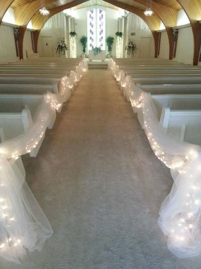 Glen gables beautiful wedding chapel will seat up to 250 guests and you get a coordinator for the...