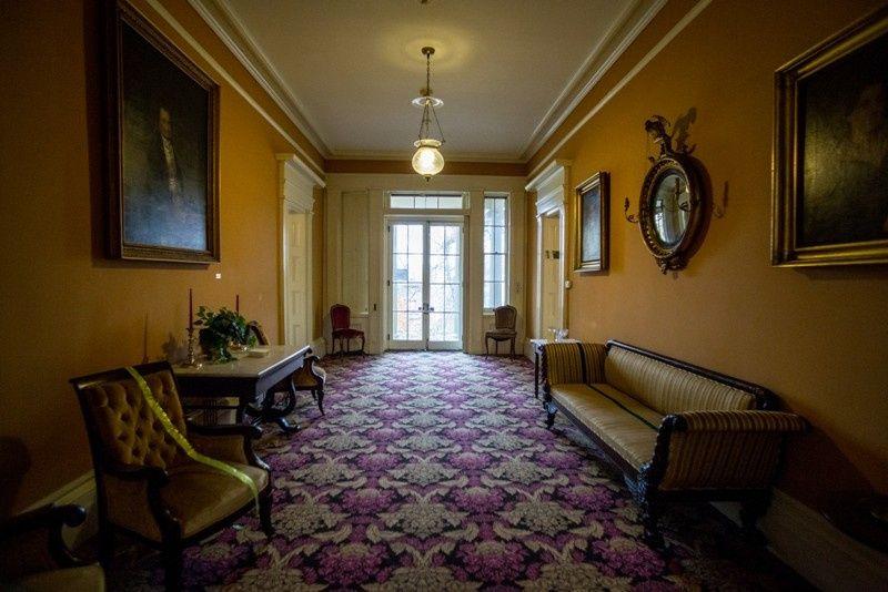 smaller hallway