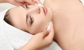 Skin analysis by a physician or an aesthetician.