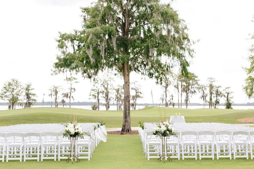 Lake Nona Country Club - wedding ceremony