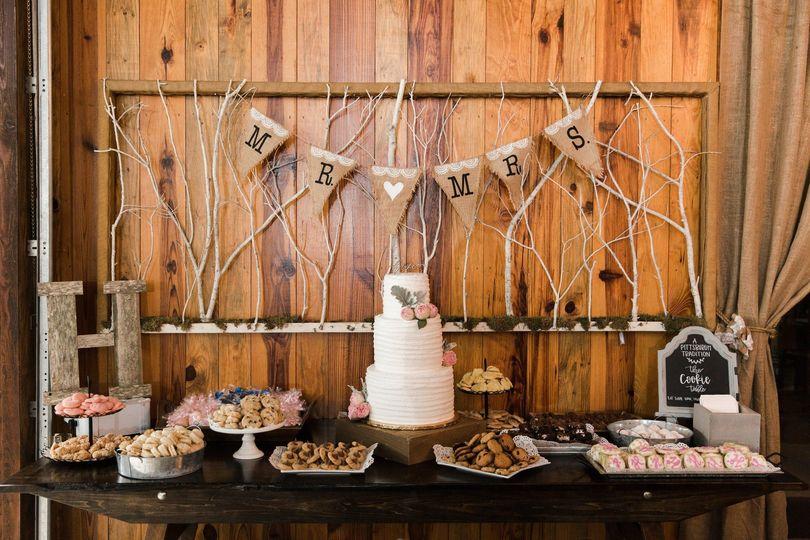 Club Lake Plantation - dessert table