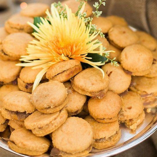 Lona's famous Sweet Potato Ham Biscuits!