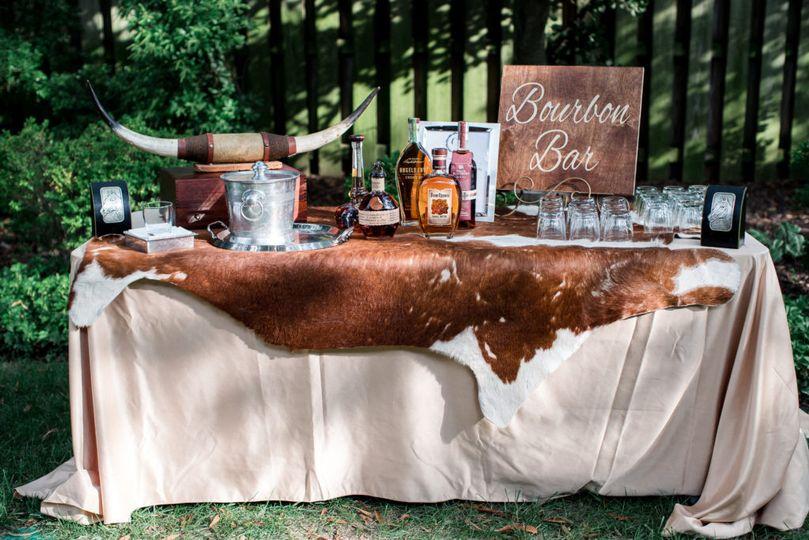 Bourbon bars are so popular.