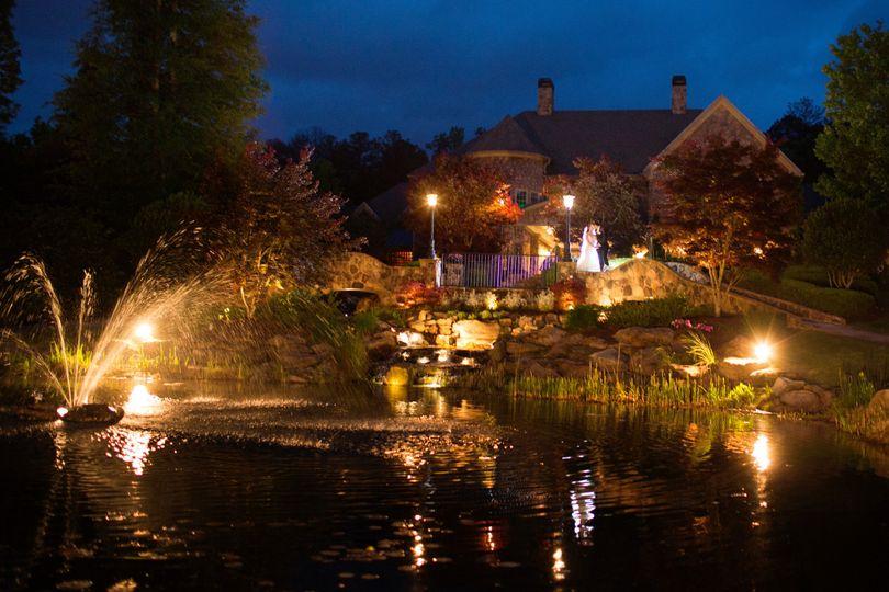 Glendalough Manor Fountain