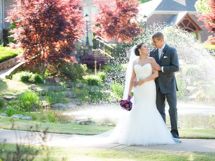 Tmx Couple Standing In Front Of Fountain Manor In Background 51 2233 159620875576589 Tyrone, GA wedding venue