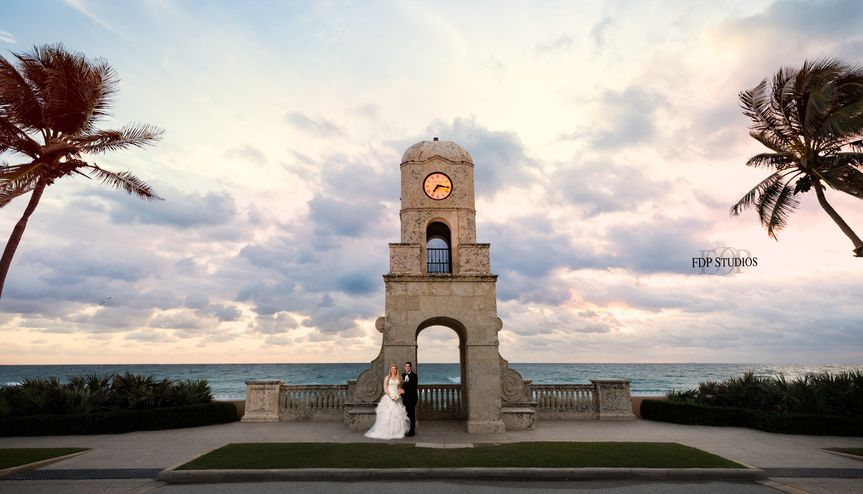 Worth Avenue wedding, Palm Beach, Florida