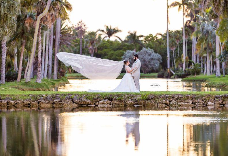Fairchild Botanical Gardens wedding, Coral Gables, Florida