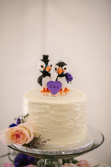 Puffin cake