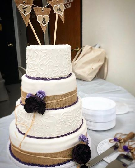 Rustic Purple Wedding
