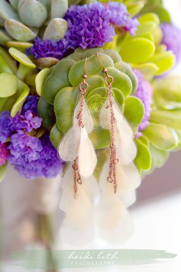 Monica Wedding Earrings