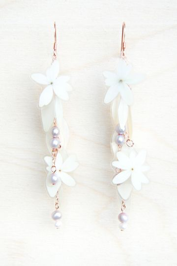 Maggie Wedding Earrings