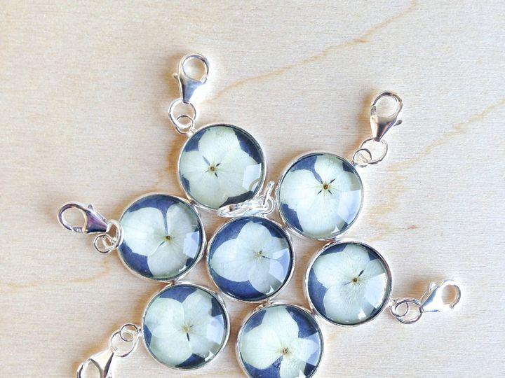 Tmx 1509494738246 Hydrangea Charms For Bridesmaids Oakland wedding jewelry