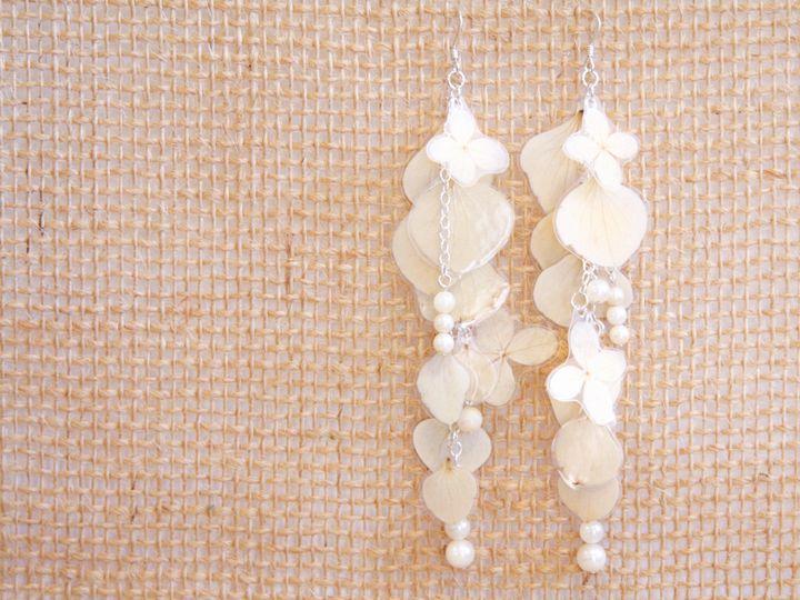 Tmx 1509494755631 Hydrangea Earrings   Beads Oakland wedding jewelry