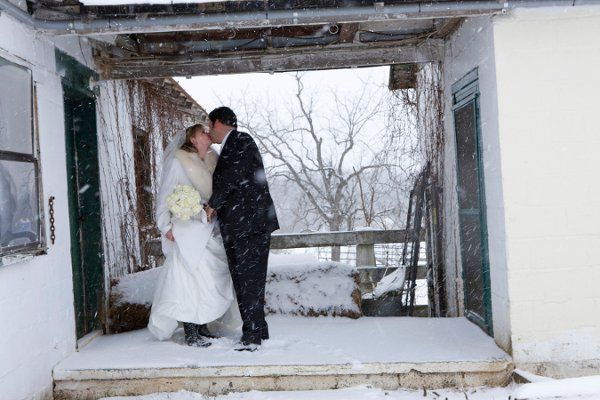 A snowy weather event in Virginia.