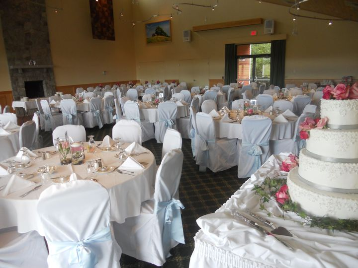 Gathering Place with optional chair covers
