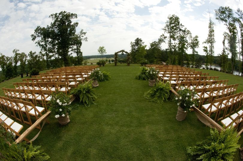 Legacy lodge outdoor ceremony