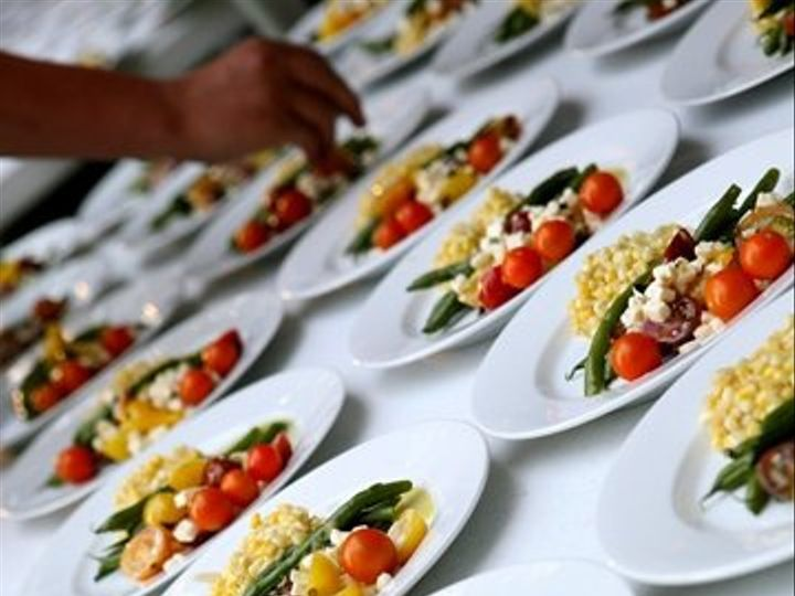 Tmx 1228347268761 Platedsaladforwebsite Garrison wedding catering