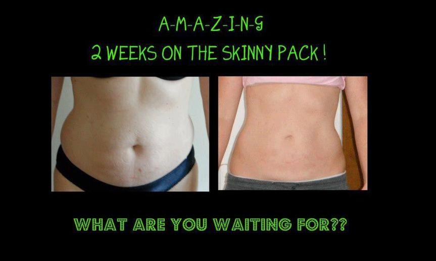 weeks on skinny pack