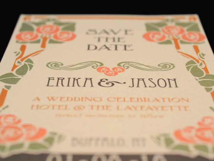 Tmx 1482447321835 Wvw6788 Hamburg, NY wedding invitation
