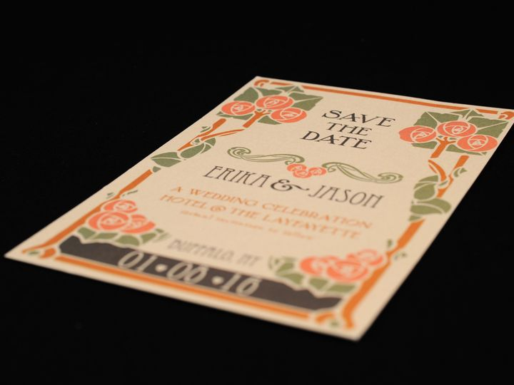 Tmx 1482447368254 Wvw6785 Hamburg, NY wedding invitation